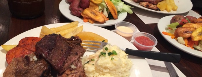 Buenos Aires Grill is one of pour manger =).