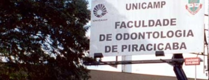 Faculdade de Odontologia de Piracicaba is one of Rogerioさんのお気に入りスポット.