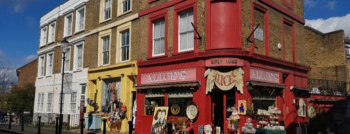 Alice's is one of London.