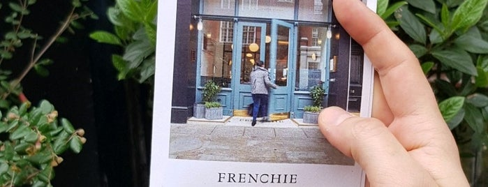 Frenchie is one of Recommendations - London.