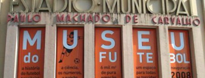 Museu do Futebol is one of S&P500.
