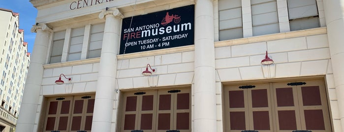 San Antonio Fire Museum is one of Евгений 님이 좋아한 장소.