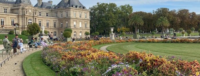 Grand Bassin du Jardin du Luxembourg is one of Paris.