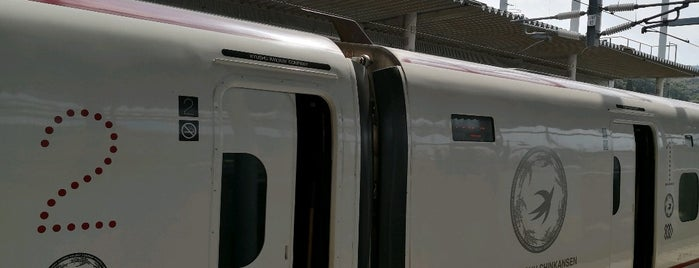 Shin-Minamata Station is one of Orte, die Shigeo gefallen.