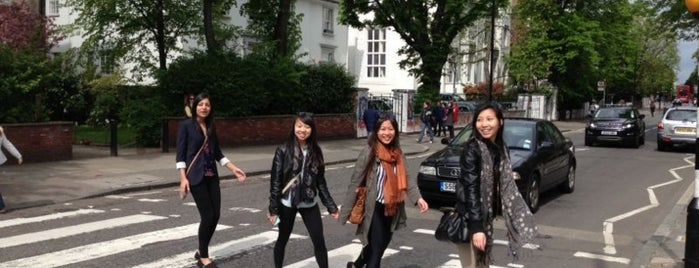 Abbey Road is one of London.
