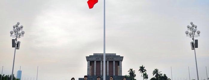 Lăng Chủ Tịch Hồ Chí Minh (Ho Chi Minh Mausoleum) is one of Vietnam.