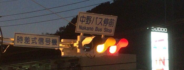 中野町バス停前交差点(環状4号線) is one of Maruyama's Liked Places.