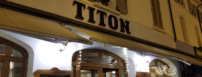 Ristorante Titon is one of Orte, die alessandro gefallen.