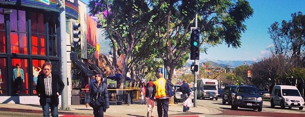 West Hollywood Rainbow Crosswalks is one of ♡L.A.♡.