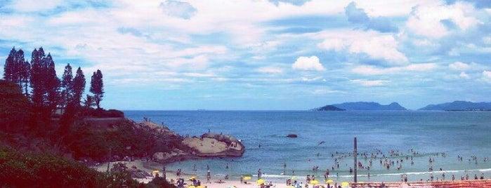 Praia da Joaquina is one of Florianópolis.