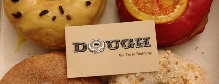 Dough is one of Gothamist's Best Donuts.