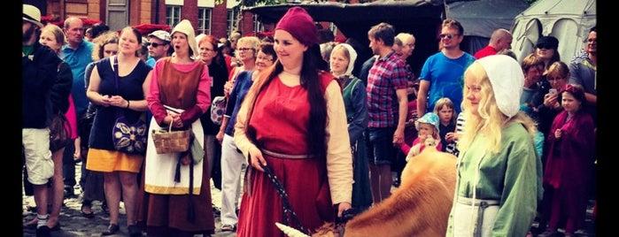 Keskiaikaiset markkinat / Medieval Market is one of Turku.
