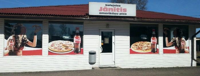 Little Johnny's | Jānītis Picērija is one of Lugares favoritos de Andra.