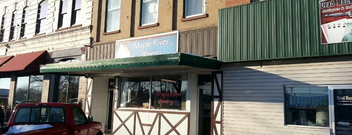 Maple River Winery is one of Fargo, ND Living.