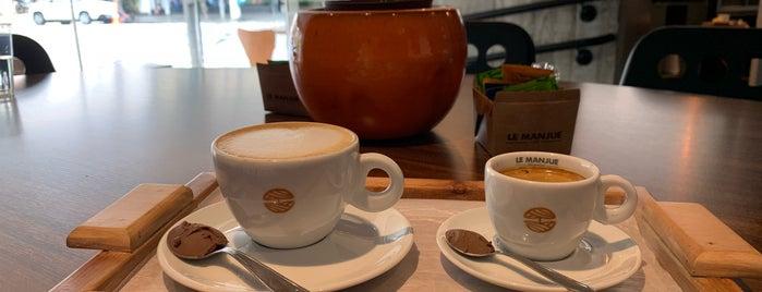 Le Manjue Café is one of Docerias.