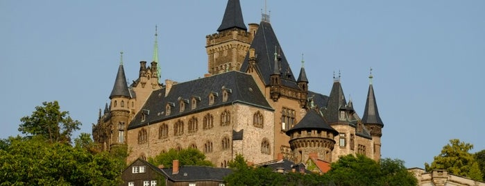 Schloss Wernigerode is one of Harz Mountains.