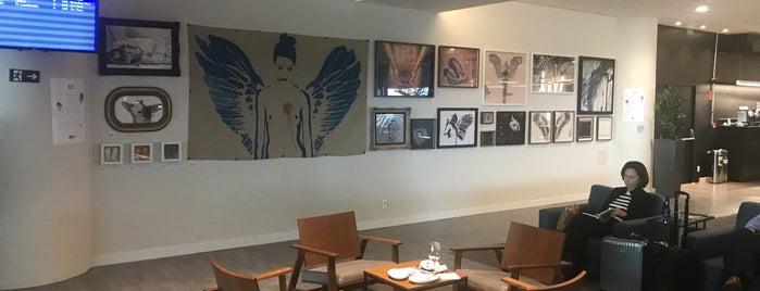 Lounge Azul is one of Lugares favoritos de Camila.