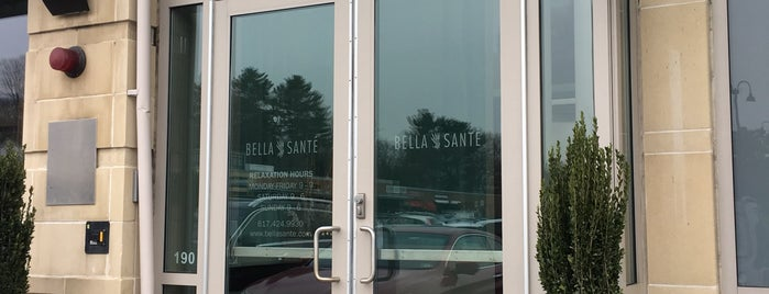 Bella Sante the SPA in Wellesley is one of Across the country- my favorites.