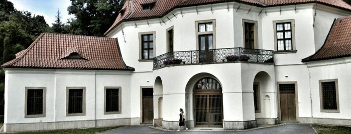 Pavilon Vojtěška is one of To-Do in Prague III.