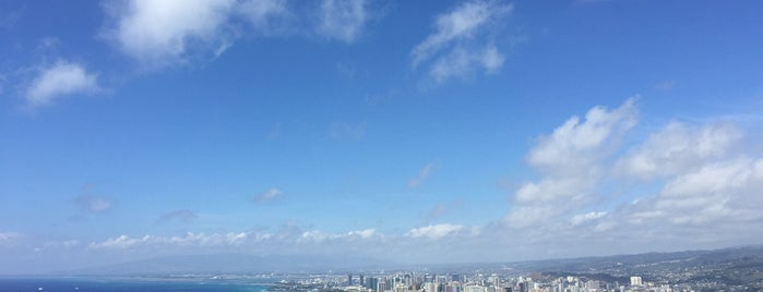 Diamond Head Trail is one of Best Oahu Hikes.
