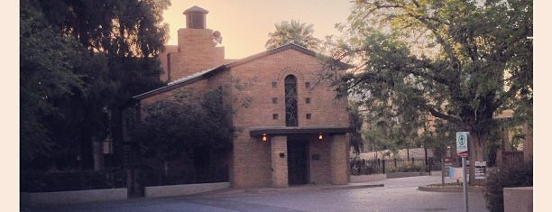 Danforth Chapel is one of Tempe Points of Pride.