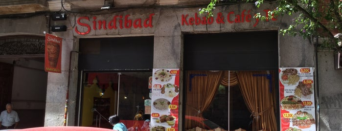 Sindibad Kebab is one of Spain trip.