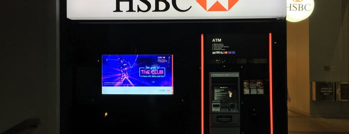 hsbc atm is one of Singapore.