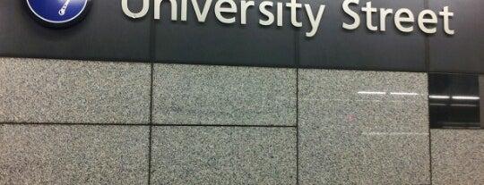 University Street LINK Station is one of Lugares guardados de David K.