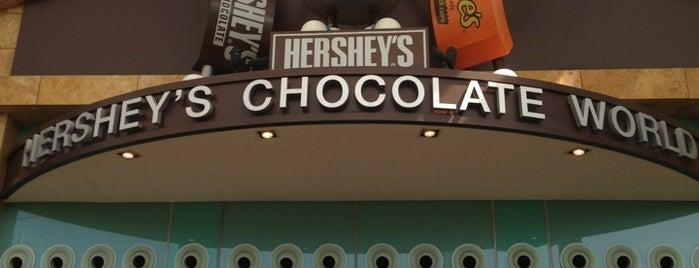 Hershey's Chocolate World is one of Singapore.
