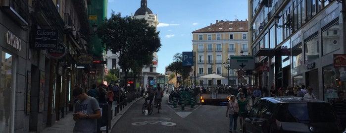 Calle Carretas is one of Madrid.
