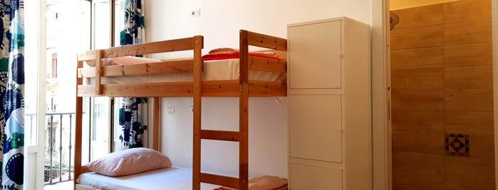 Hostel Mancini is one of #JonorashEuroTrip.