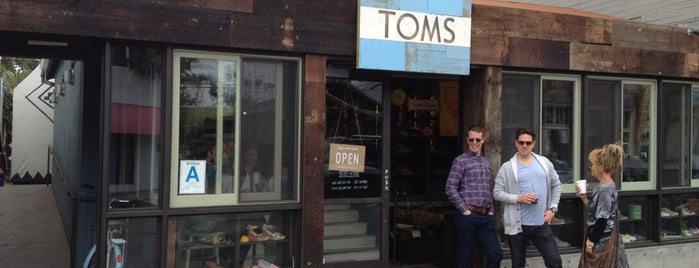 TOMS Flagship is one of LA.