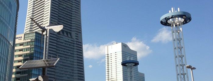 桜木町駅前広場 is one of Lugares favoritos de yåsü.
