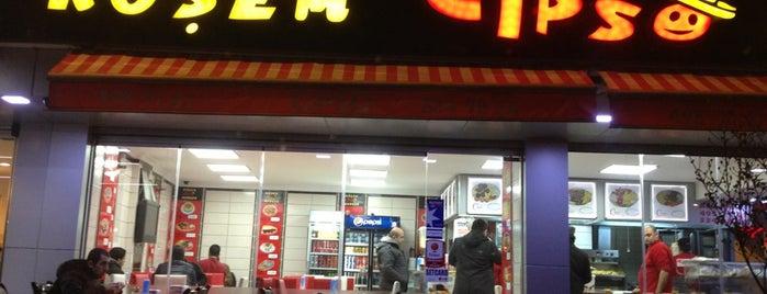 Köşem Cipso Burger is one of Bora : понравившиеся места.