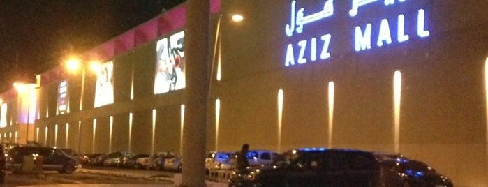 Aziz Mall is one of .Manu'nun Kaydettiği Mekanlar.