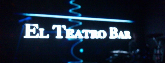 El Teatro Bar is one of Locales Rock.