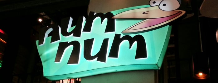 NumNum is one of Locais curtidos por Nghn.