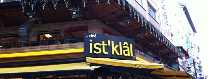 Cadde İstiklal Pasta & Cafe is one of Lugares Diversos.
