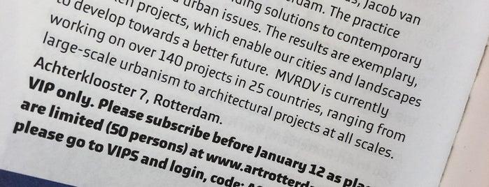 MVRDV Architects is one of Rotterdam.