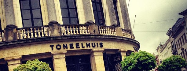 Toneelhuis (Bourla Schouwburg) is one of Op Dr : понравившиеся места.