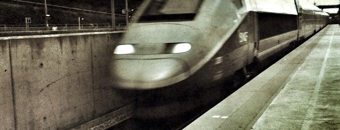 Gare SNCF de Valence – Rhône-Alpes-Sud TGV is one of NYC➡️SPAIN➡️FRANCE➡️ITALY Trip.