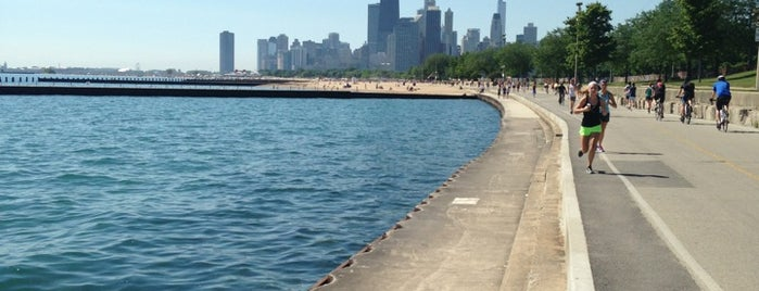 Chicago Lakefront Trail is one of Top urban bike paths in the U.S..
