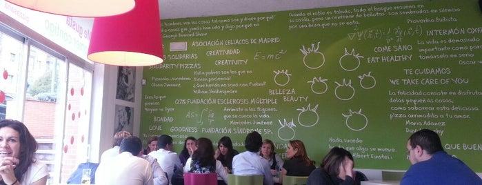 lapizza+sana is one of 'O Sole Mio.