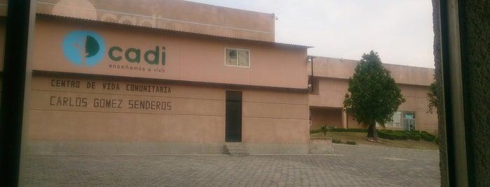 Cadi Escuela Para Niños Con Síndrome is one of Tempat yang Disukai Joaquin.