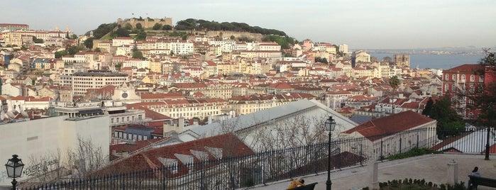 Miradouro de São Pedro de Alcântara is one of Lisbon for three (or more) days.