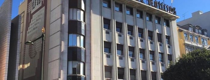 Diário de Notícias is one of Obras do arquiteto Pardal Monteiro em Lisboa.