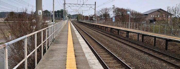 郷沢駅 is one of JR 키타토호쿠지방역 (JR 北東北地方の駅).