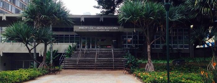 Biblioteca Pública Municipal Prof. Ernesto Manoel Zink is one of Serviços para Pessoas com Deficiência.