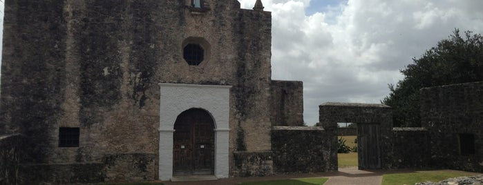Presidio La Bahia is one of Goliad, TX.