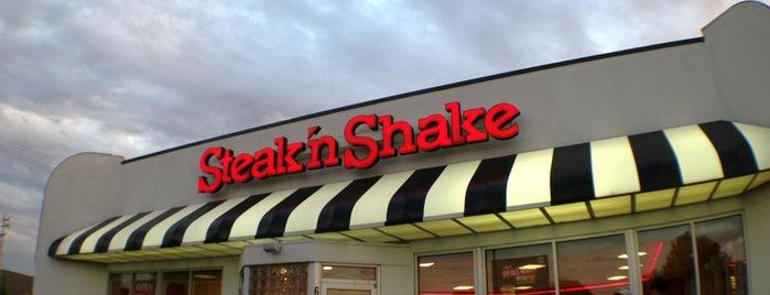 Steak 'n Shake is one of Tempat yang Disukai Kate.